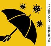 protecting coronavirus concept. ... | Shutterstock .eps vector #2010488732