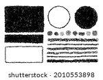 set of hand drawn  scribble... | Shutterstock .eps vector #2010553898