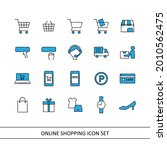 online shopping illustration... | Shutterstock .eps vector #2010562475