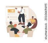 internal education abstract... | Shutterstock .eps vector #2010669695