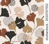 abstract autumn foliage... | Shutterstock .eps vector #2010707552