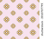 fabric repeat pattern  seamless ... | Shutterstock .eps vector #2010707795