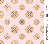 fabric repeat pattern  seamless ... | Shutterstock .eps vector #2010707798