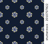 fabric repeat pattern  seamless ... | Shutterstock .eps vector #2010707822