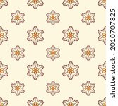 fabric repeat pattern  seamless ... | Shutterstock .eps vector #2010707825