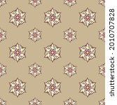 fabric repeat pattern  seamless ... | Shutterstock .eps vector #2010707828