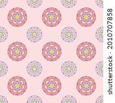 fabric repeat pattern  seamless ... | Shutterstock .eps vector #2010707858