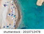 Perta Tou Romiou Beach In...