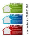 vector interior design template ...