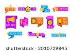 helpful tricks logos and... | Shutterstock . vector #2010729845