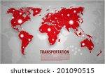 world transportation and... | Shutterstock .eps vector #201090515