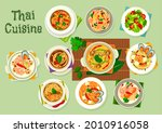 thai cuisine seafood with...   Shutterstock .eps vector #2010916058