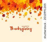 happy thanksgiving background.... | Shutterstock .eps vector #2010991205