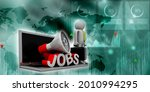 opportunity  job concept 3d... | Shutterstock . vector #2010994295
