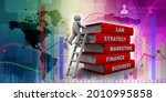 3d rendering student with books  | Shutterstock . vector #2010995858
