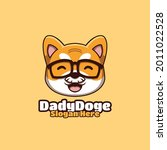 daddy doge creative crypto... | Shutterstock .eps vector #2011022528