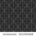 the geometric pattern with wavy ...   Shutterstock .eps vector #2011032668
