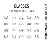 premium pack of glasses line...