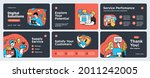 presentation and slide layout... | Shutterstock .eps vector #2011242005