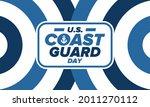 u.s. coast guard day in united...   Shutterstock .eps vector #2011270112