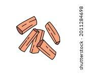 sandalwood  olor line icon....
