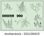 herbal set   Shutterstock .eps vector #201130415