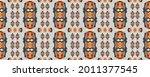 beige  brown and black ethnic...   Shutterstock . vector #2011377545