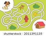 maze game. educational...   Shutterstock .eps vector #2011391135