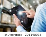 concept of fast or instant... | Shutterstock . vector #201140036