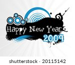 new year banner  design | Shutterstock .eps vector #20115142