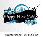 new year banner  design | Shutterstock .eps vector #20115142