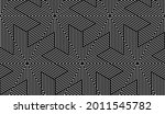 abstract geometric pattern with ... | Shutterstock .eps vector #2011545782