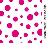 Seamless Polka Dot Pink...