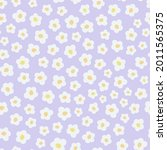 cute seamless pattern with... | Shutterstock .eps vector #2011565375