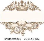 vintage emblem   Shutterstock .eps vector #201158432