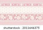 vector vintage floral... | Shutterstock .eps vector #2011646375