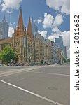 Photo of Saint Paul Cathedral (Melbourne, Australia) - stock photo