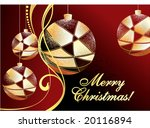 grunge christmas background | Shutterstock .eps vector #20116894