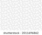 the geometric pattern with...   Shutterstock .eps vector #2011696862
