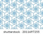 the geometric pattern with...   Shutterstock .eps vector #2011697255