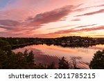 Amazing Beautiful Sunset On The ...