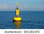 Floating Yellow Navigational...