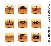 set uv protection  gamepad ...   Shutterstock .eps vector #2011880042