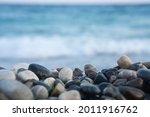 Empty Pebbles Beach   Mock Up...