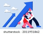 stop falling and possibilities... | Shutterstock .eps vector #2011951862