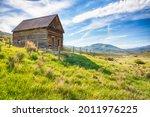 Old Abandoned Log Homestead...