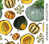 vector pattern from different...   Shutterstock .eps vector #2012107928