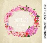 vintage label for your design   Shutterstock .eps vector #201213512