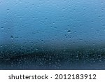 raindrops on the glass of the... | Shutterstock . vector #2012183912