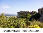 View Of The Fortress Of Mornas...